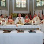 Pfr. Otto, Pfarrer Pana, Diakon Friedel Nähring, Regionalbischof Dr. Hegge, Diakon em. Weischer, Dechant Winzeler, Pfarrer Groß, Pfarrer em. Schnetgöke