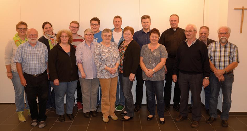 Der Pfarreirat der Pfarrgemeinde