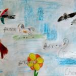 Gemälde von Kindern