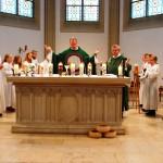 Der letzte Gottesdienst mit Pfarrer Eiden