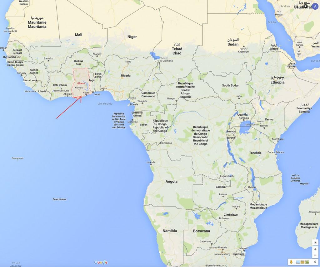 Ghana in Afrika
