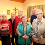 Der Vorstand der Kolpingfamilie Hauenhorst