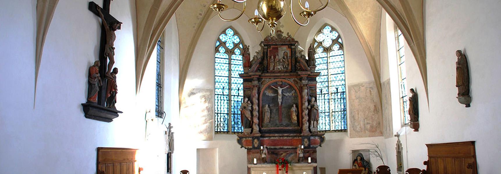 Die Alte Kirche in Mesum Innenansicht