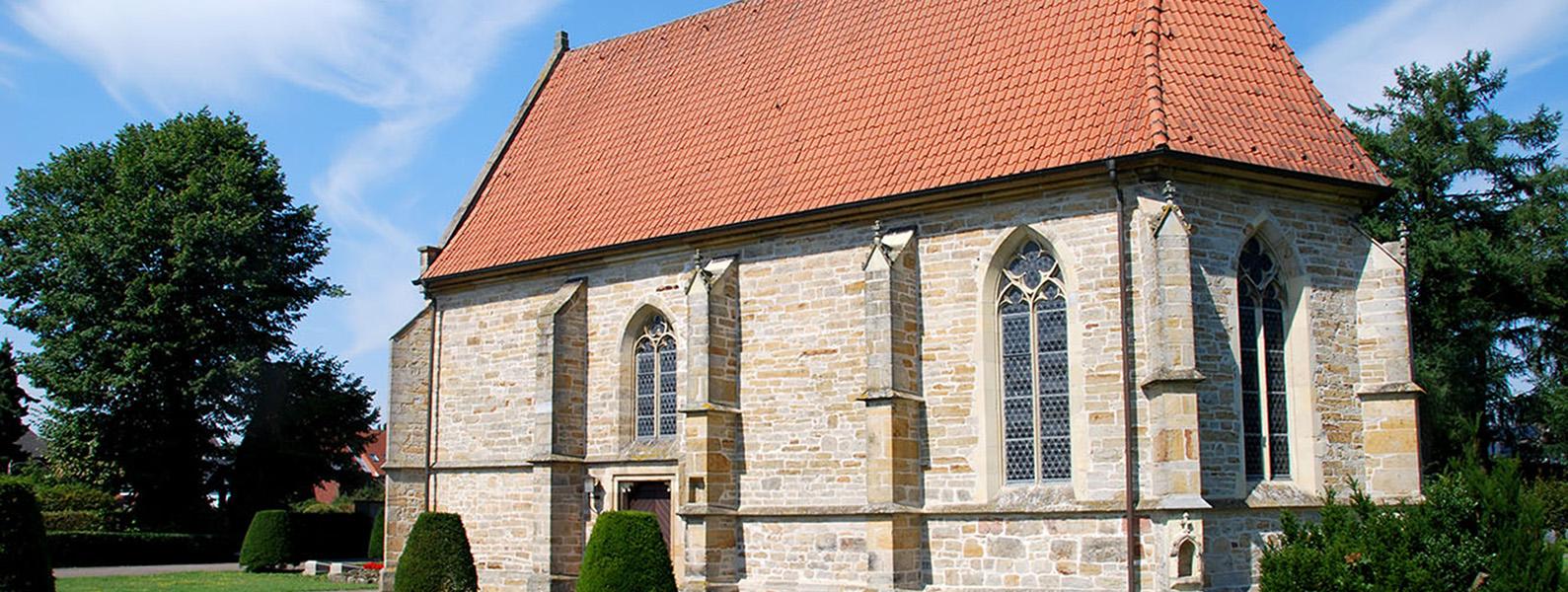Die Alte Kirche in Mesum Außenansicht