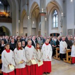 Der feierliche Gottesdienst in der Pfarrkirche St. Johannes Baptist in Mesum am 24. Juni 2012