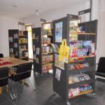 Bücherei in Elte, Innenansicht