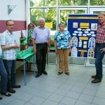 Ausstellung der Arbeiten der GrundschülerInnen im Pfarrheim