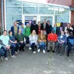 Partner und Freunde aus Tamale, Yendi, Hauenhort und Mesum beim kleinen Abschiedsfest