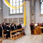 Chöre gestalten Gottesdienst mit