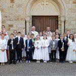 Kommunionkinder in Hauenhorst 2016