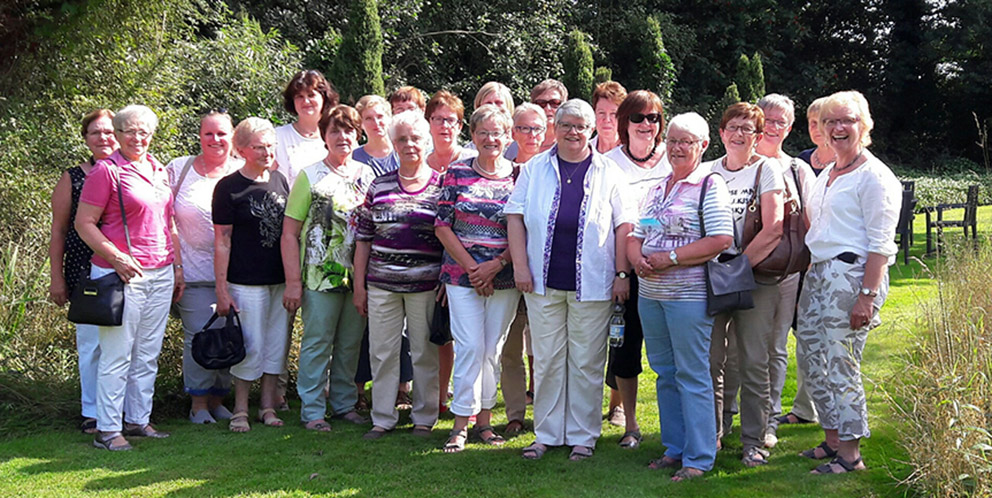 Die Mitarbeiterinnen der kfd Elte im Landgarten Laumann in Emsbüren Ahlde