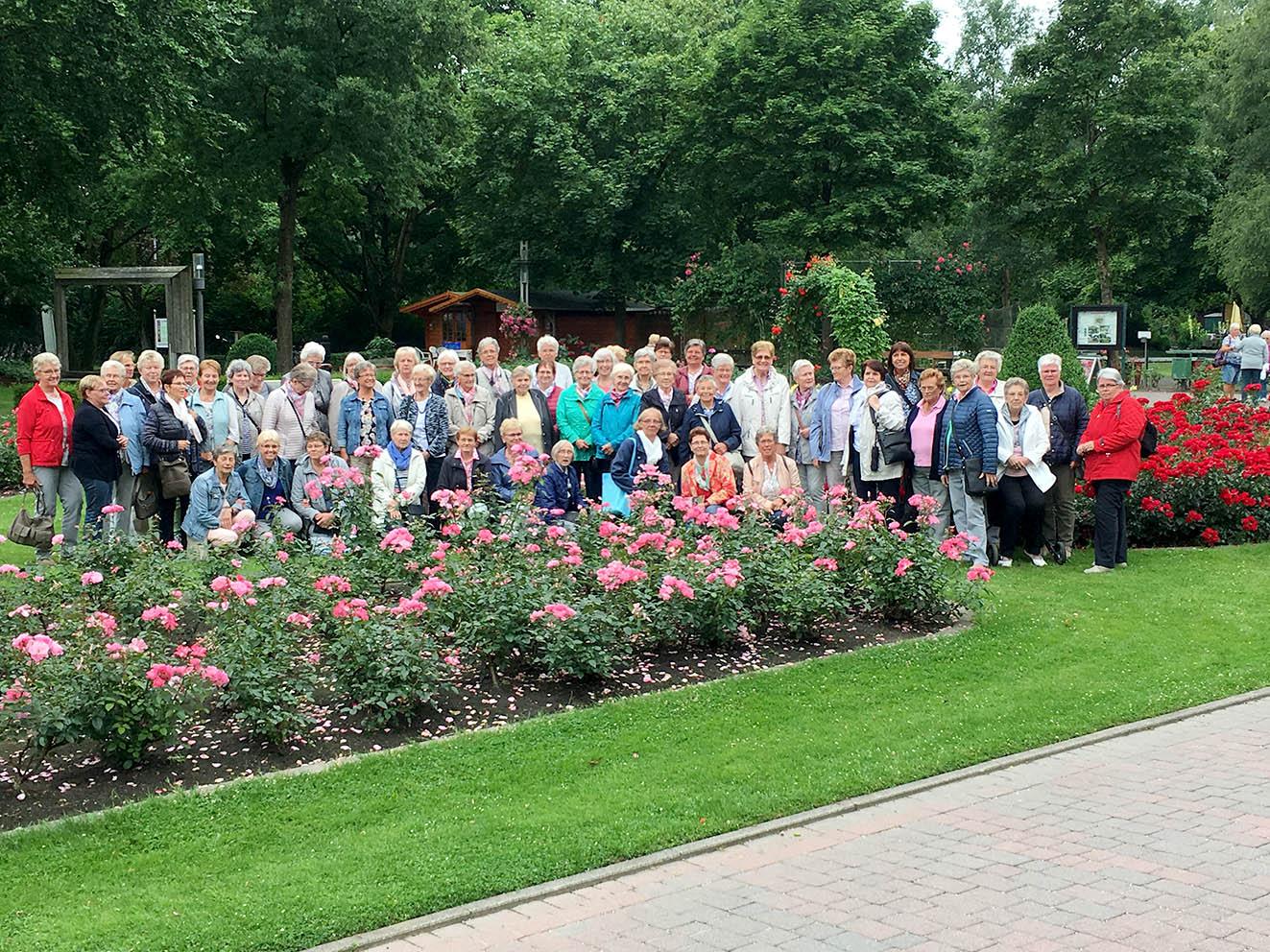 Die Mitarbeiterinnen der Frauengemeinschaft Mesum besuchten Bad Rothenfelde