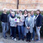 Das Team der Bücherei in Elte