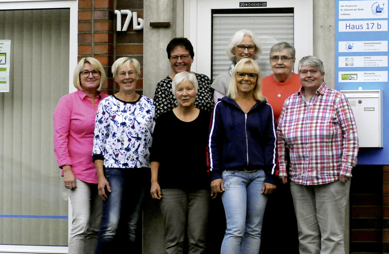 Das Team der Gemeindecaritas Mesum
