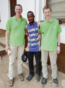Im Rahmen der Osterfeierlichkeiten trafen wir Barnabas Jagri, einen der Prayer Leader
