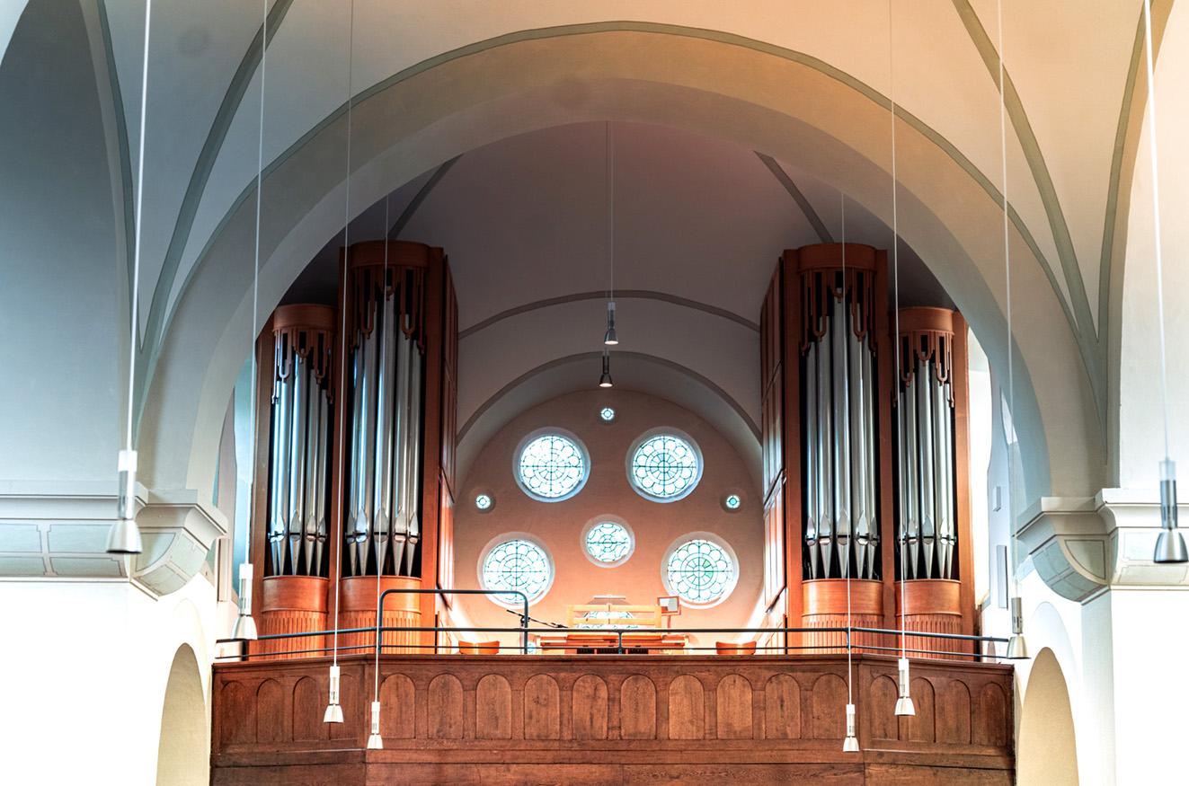 Eine Orgel wie hier in St. Mariä Heimsuchung Hauenhorst soll bald auch wieder in der Elter Kirche erklingen